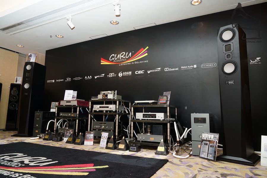 Guru Acoustic開辦僅五年,但成績有目共睹,今年首次參加香港的音響展覽,吸引大批發燒友進駐