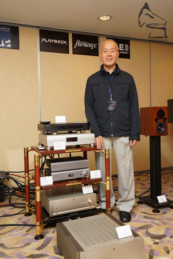 Harmonix 木內和夫在音響界已達「匠人級」,很久沒和香港發燒友見面,今次借活動和大家聚聚舊