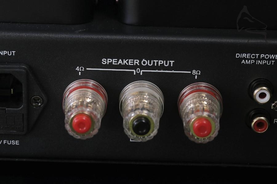 4ohms 或 8ohms 兩種不同接駁適用不同揚聲器