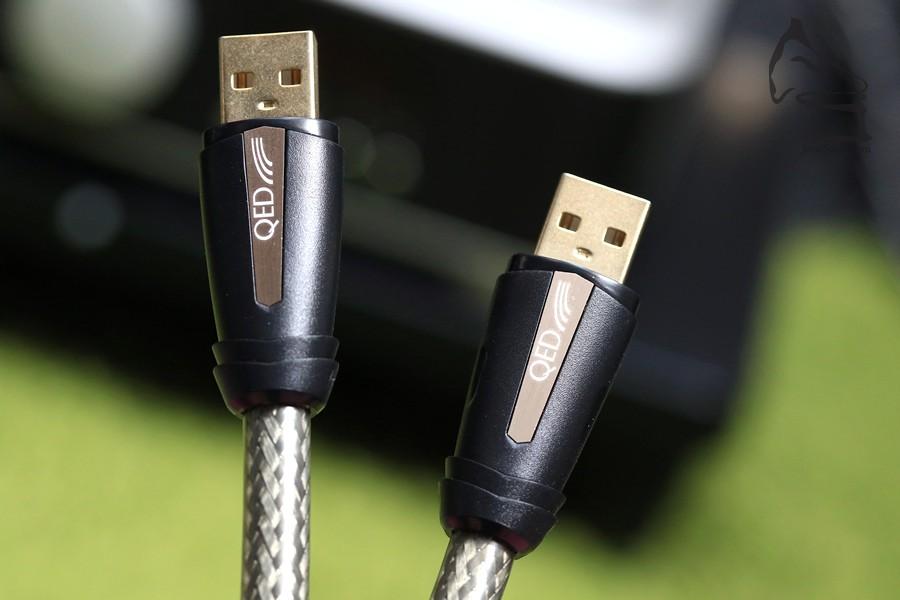 有最大路接駁USB DAC用Port A「扁頭」加Port B「方頭」