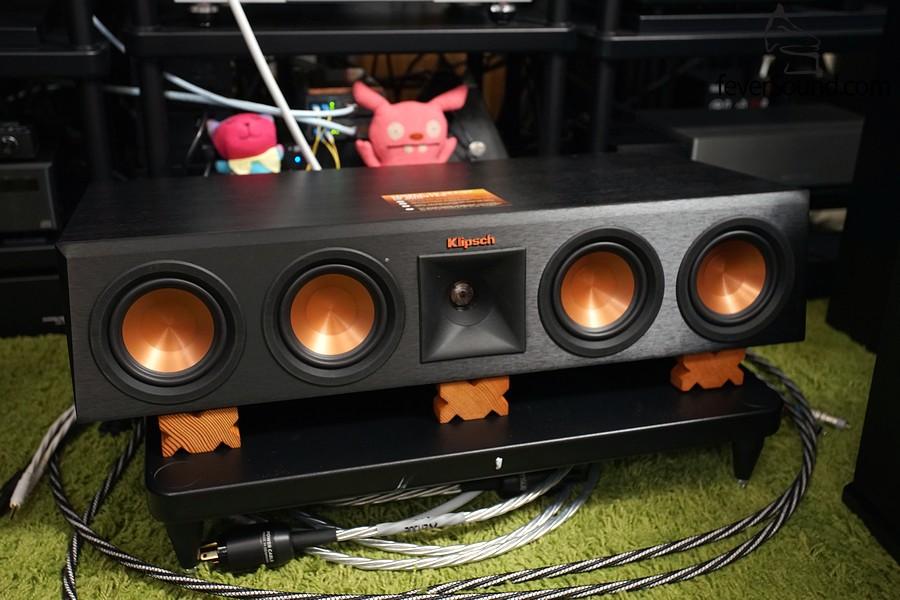 RP-440WC主要設計作中置聲道,三路五單元,足可把影院中最重要的中置聲音好好演譯