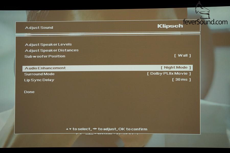 超低音的設定以及聲音增強功能,前者有助不同環境的低音表現,後者則針對不同軟件種類而設