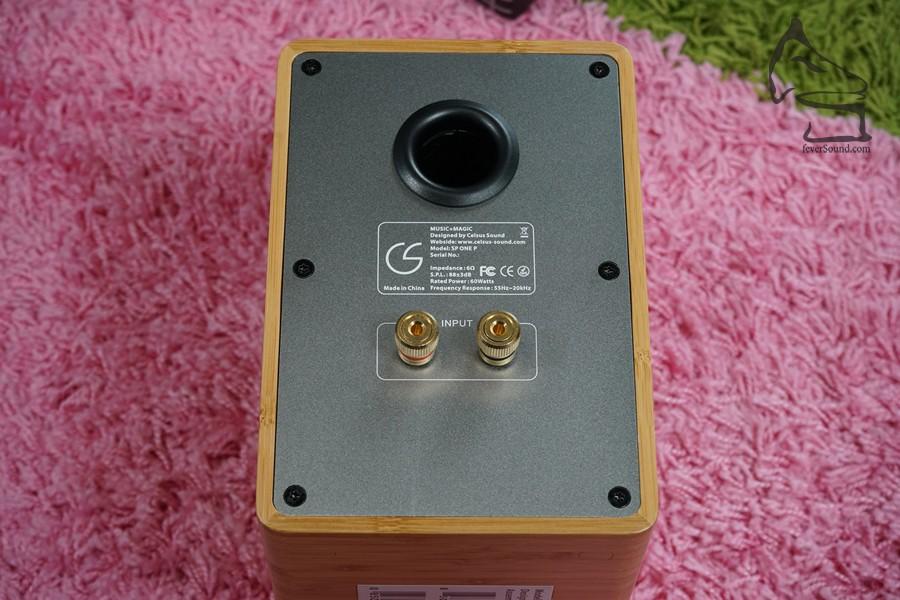 分音器設在箱背,箱背則為金屬設計,有助分音器散熱