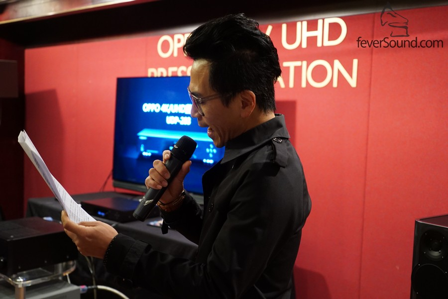 BO Acoustic的Nipon Kwok負責當日的司儀
