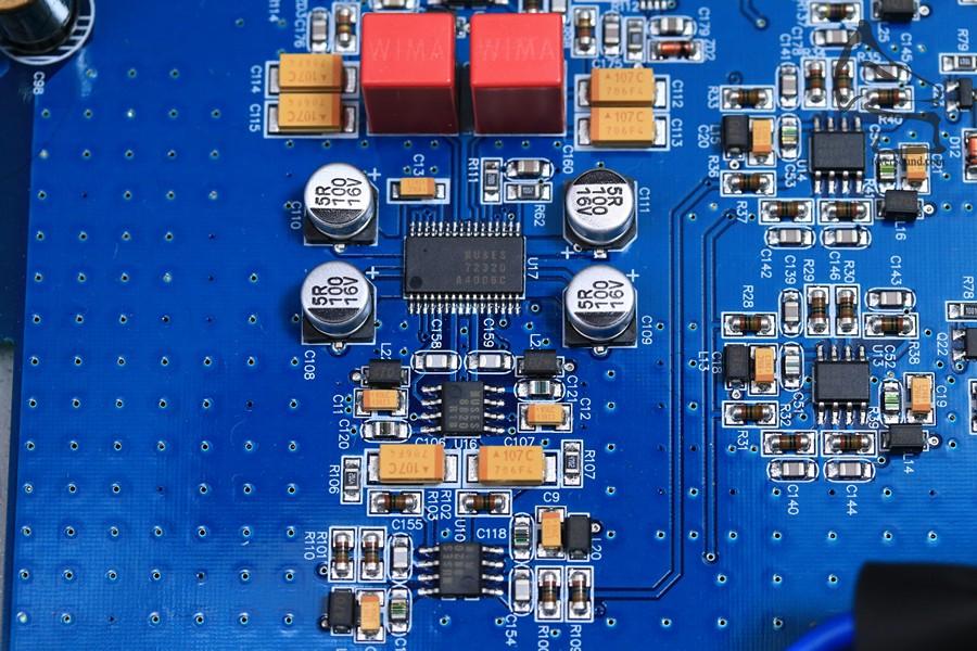 Wima薄膜電容,左聲全對稱線路放大