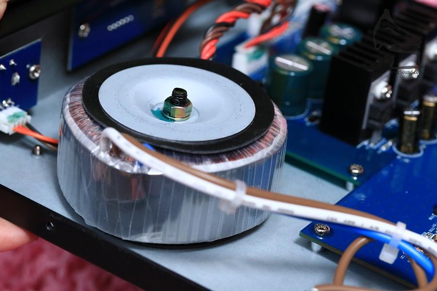DAC-9是使用模擬環牛供電,加分