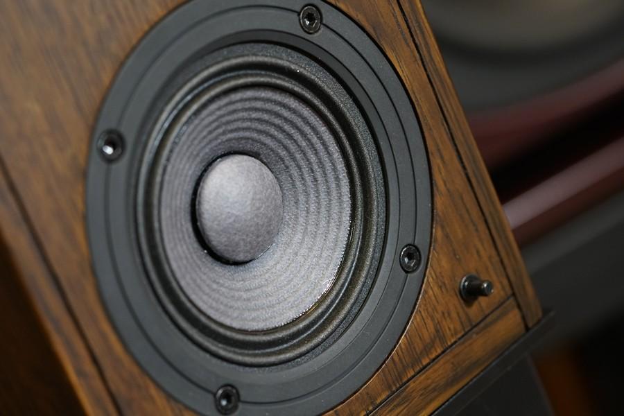 四吋TAD技術設計的中低音,巨型磁鐵