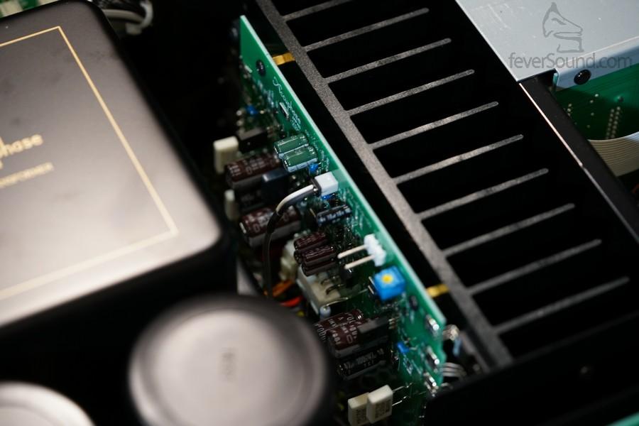 功率管使用Sanken的產品,推挽放大