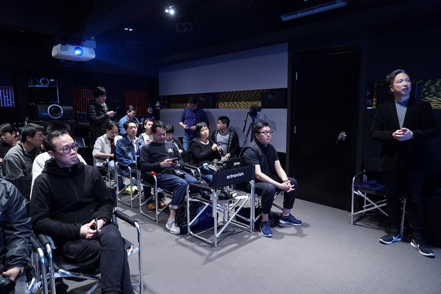 大批傳媒到來見證Loki的實力,由米樂數碼影音Tony Cheung先生負責介紹
