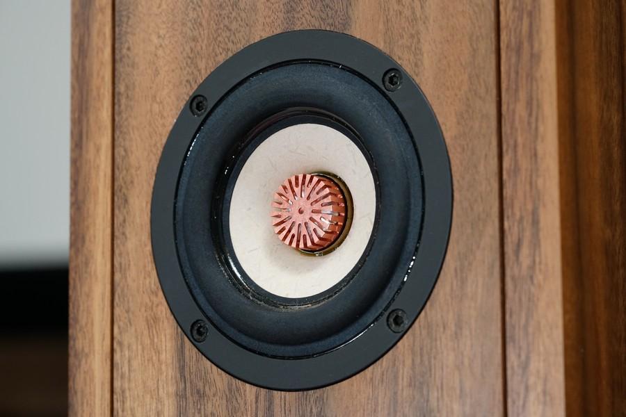 麥克風型銅相位錐增加高音擴散角度