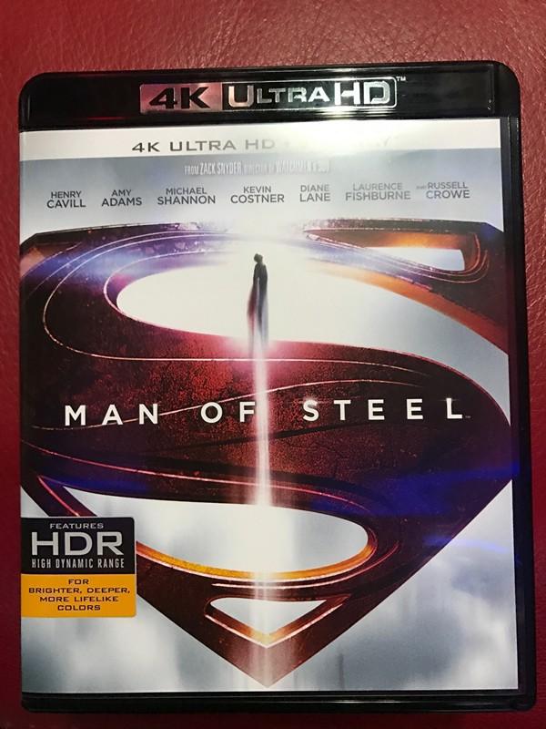 """另一隻測試用的同樣是2013年的""""Man of Steel"""""""