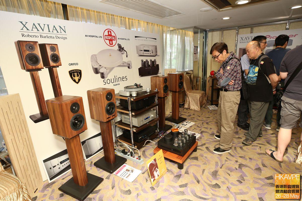 AV Hospital 院長展示的主系統包括捷克Xavian揚聲器、美國BAT擴音機,Pioneer的SACD/CD機,黑膠則是波蘭的Souline,好聲千萬別忘了韓國Codia機架也有功勞!