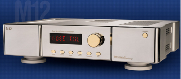 美國數碼專家Bricasti Design最新推出全新M12 Platinum「白金版」數碼串流連前級一體化器材 (富豪2D Sound Concepts)