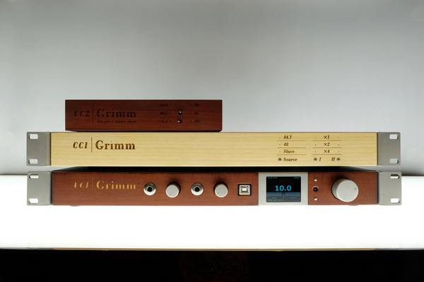 荷蘭專業音響公司Grimm Audio最新推出擁有Re-clock功能的主時鐘生產器CC1 Pro,家用器材毋須備有時鐘輸入亦可使用 (富豪2G 方浪音響)