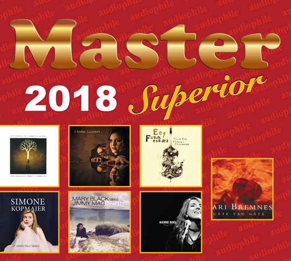 Master 2018 SuperiorCD明達音樂一年一度發燒巨獻,選輯多首極具代表性的錄音及發燒作品,集女聲、男聲、爵士音樂於一碟,十四首曲目首首動聽 (B02 Master Music)