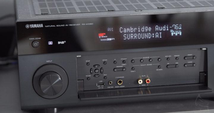 實試無線+Surround AI打孖玩!Yamaha RX-A1080