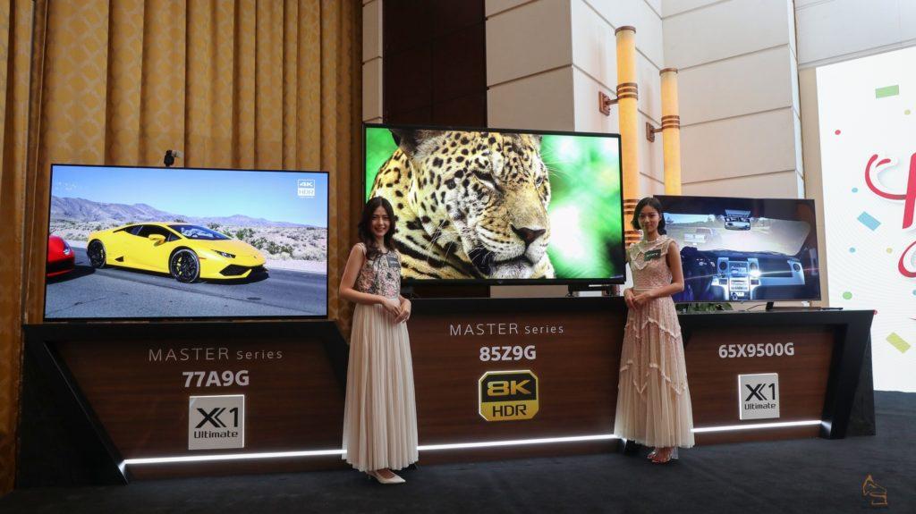 8K 首現+X1 Ultimate 下放Sony Z9G & X9500G 電視速報