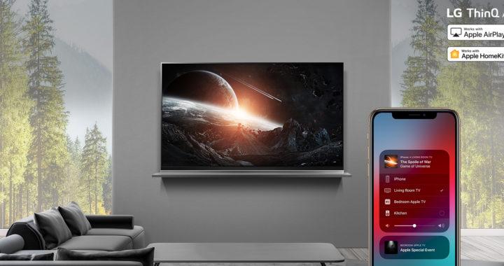 LG 2019 ThinQ AI 電視正式支援 AirPlay 2  同時成為首個兼容 HomeKit 電視品牌