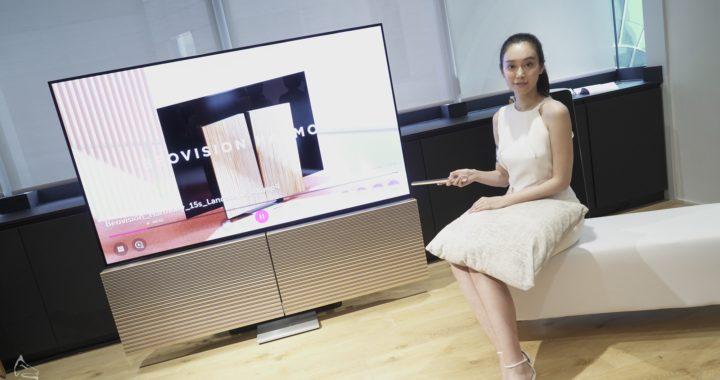 B&O Beovision Harmony 香港發佈   LG OLED TV+破格蝶翼喇叭