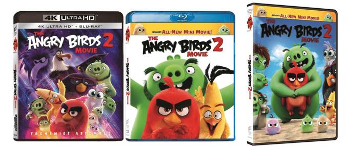 《憤怒鳥大電影 2》11 月 14 日推出  香港首套 IMAX Enhanced 4K UHD BD 電影