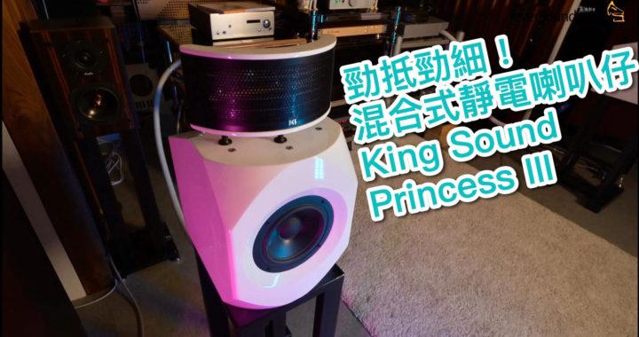 【內建字幕】勁抵勁細!混合式靜電喇叭仔 King Sound Princess III