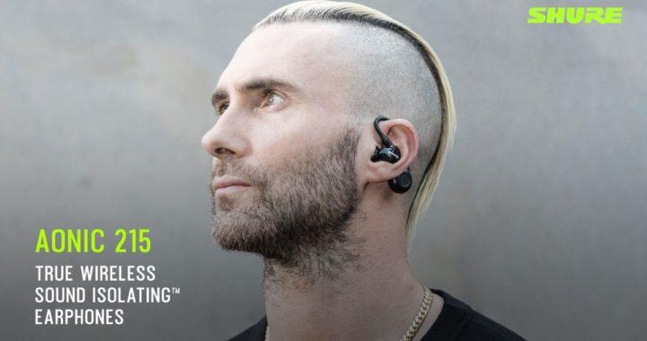 Maroon 5 主音代言  Shure AONIC 215 全無線耳機香港發佈