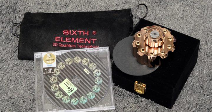 實試第六元素 KGT 黑膠量子場唱片壓 / HE-R1 Pro X CD 墊