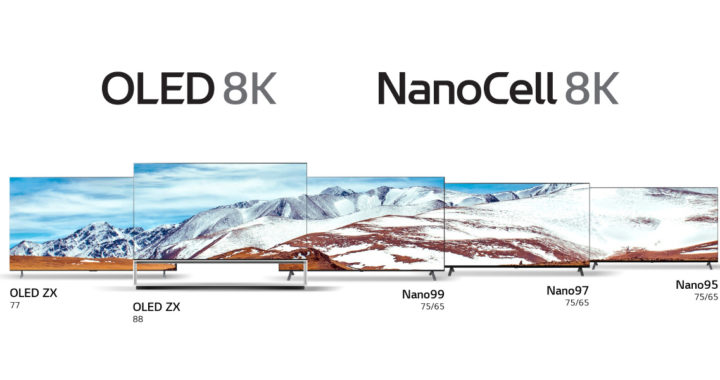 8K OLED TV+Nano Cell TV 香港雙線登場!48 吋 4K OLED TV易入屋 LG 電視 2020 火力全開