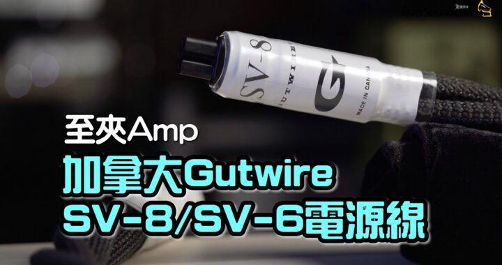 【自選字幕】夾 Amp 拍檔!加拿大 Gutwire SV-8/SV-6 電源線