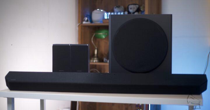 跟機有齊無線環繞聲喇叭|9.1.4 一套 Soundbar 就攪掂|Samsung HW-Q950T|艾域實試